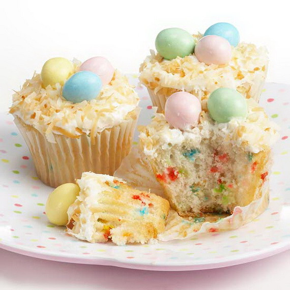 Cupcake Easter Desserts  Cool Homemade Easter Dessert Ideas family holiday