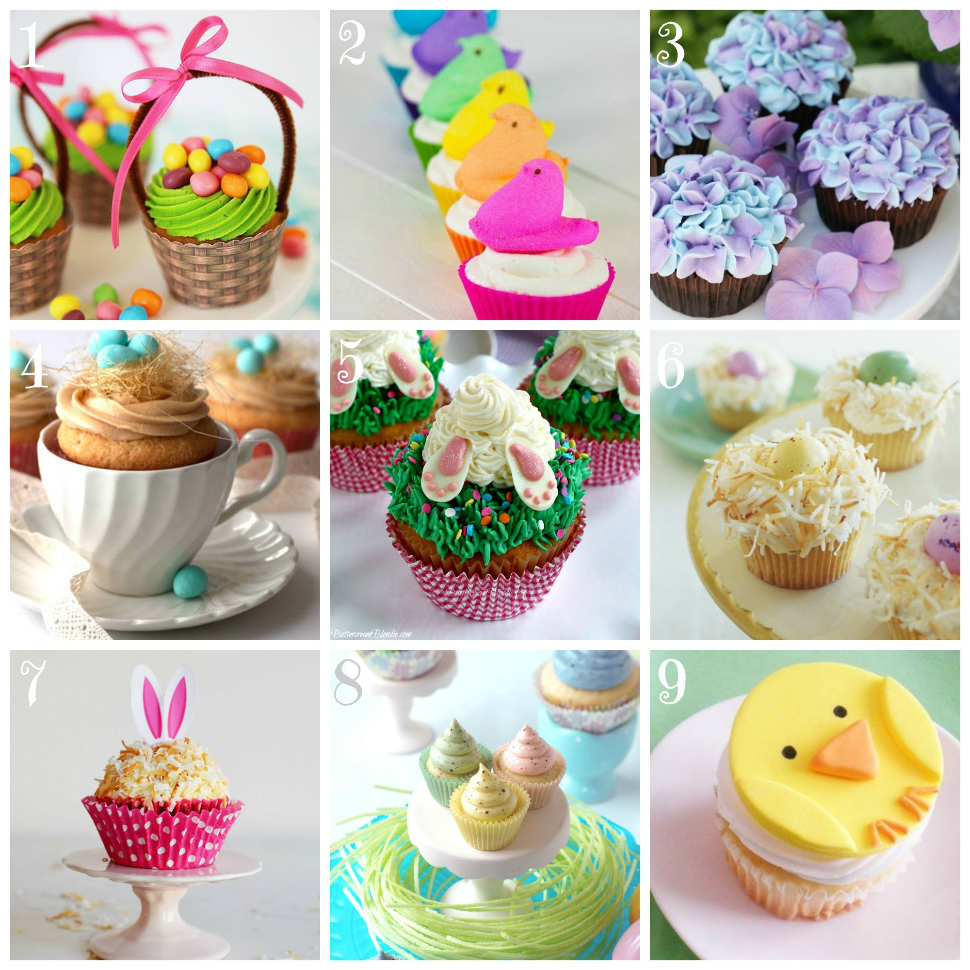 Cupcake Easter Desserts  Top 9 Easter Cupcake Recipes