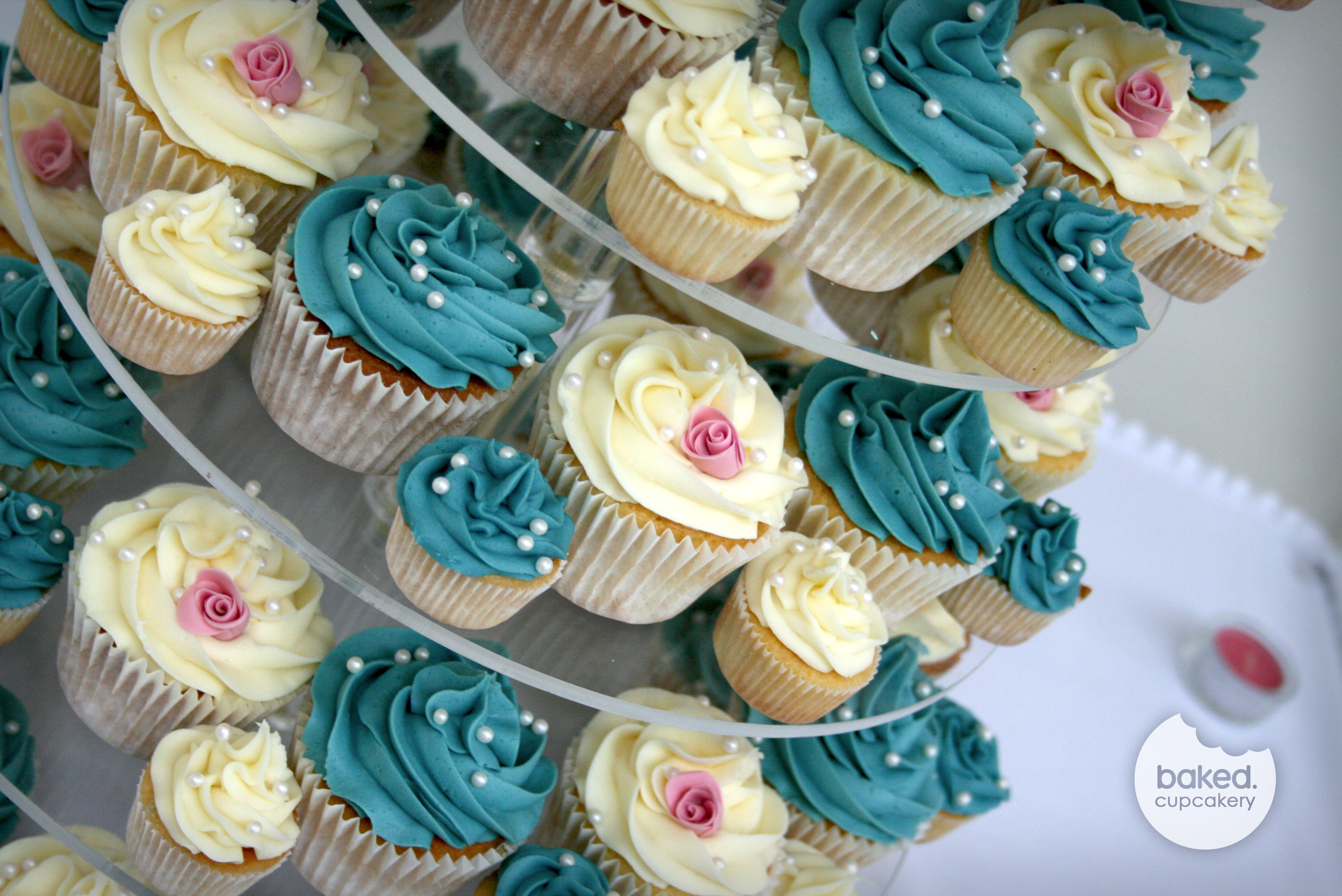 Cupcakes For Wedding  Wedding cupcakes – Baked