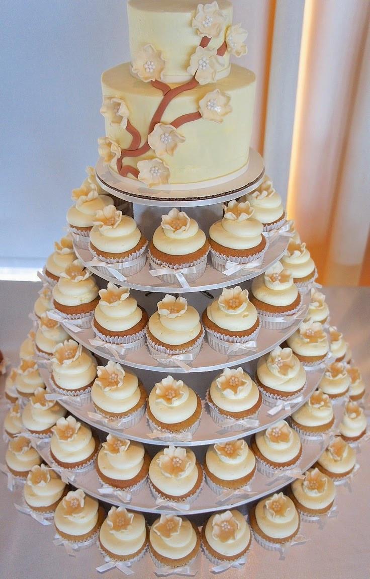 Cupcakes For Wedding  Memorable Wedding Delicious Wedding Cupcake Towers