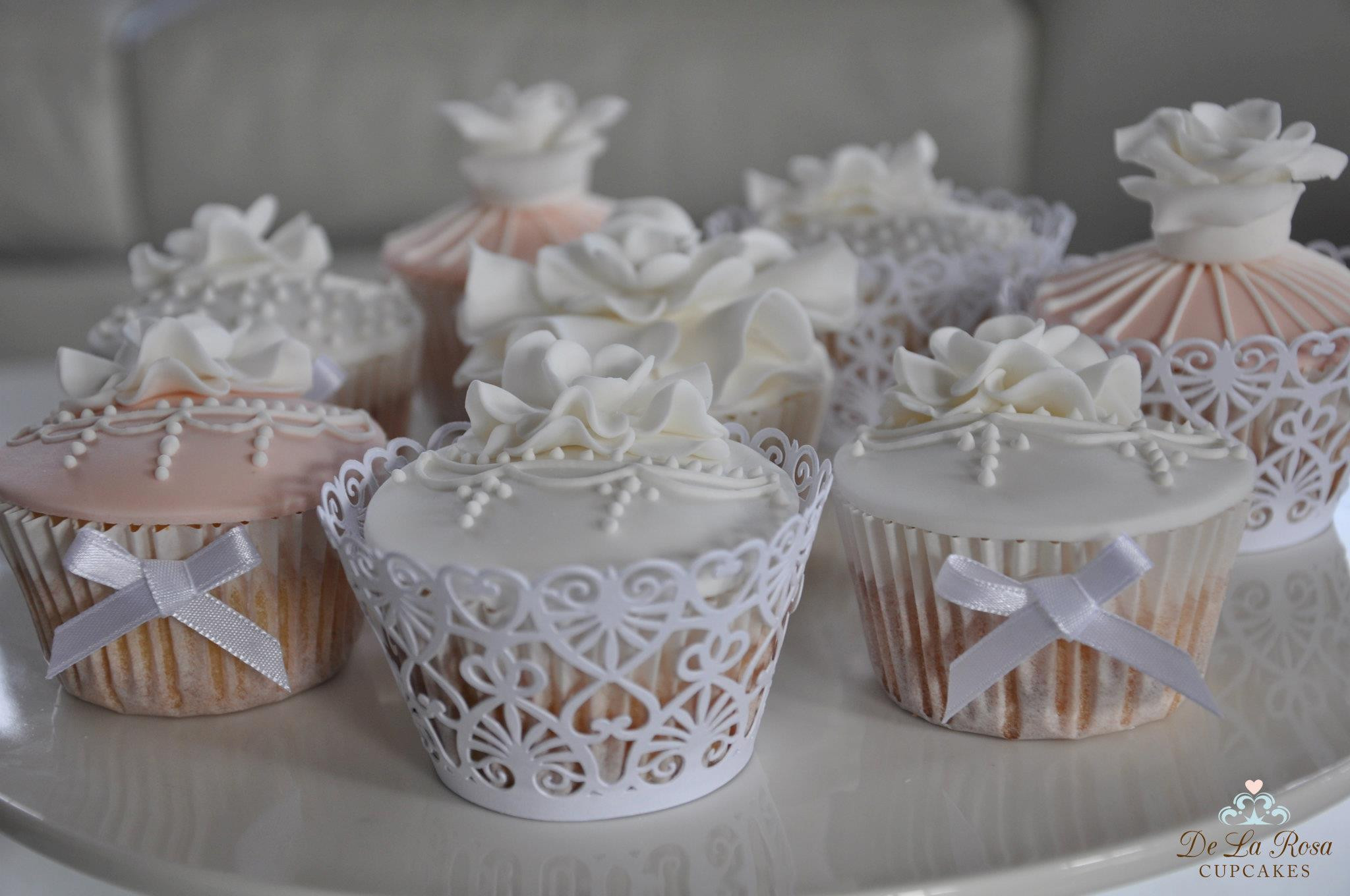 Cupcakes For Weddings  Friday Fives 5 Different Lace Wedding Cupcakes