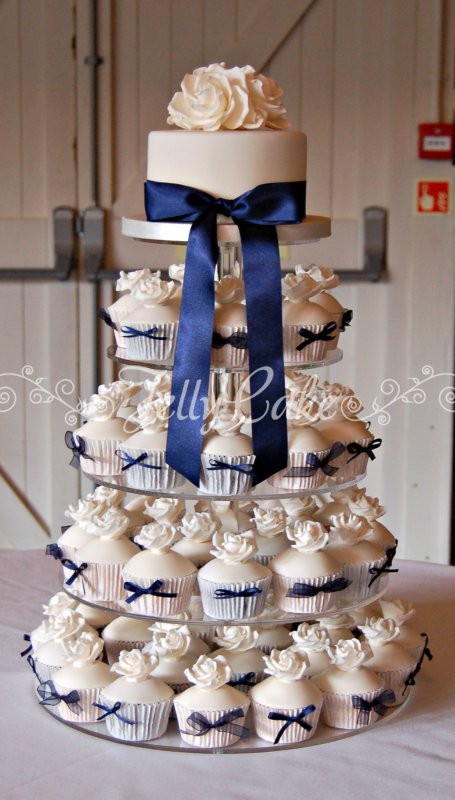Cupcakes Wedding Cakes  CUPCAKES AND MINI CAKES JellyCake