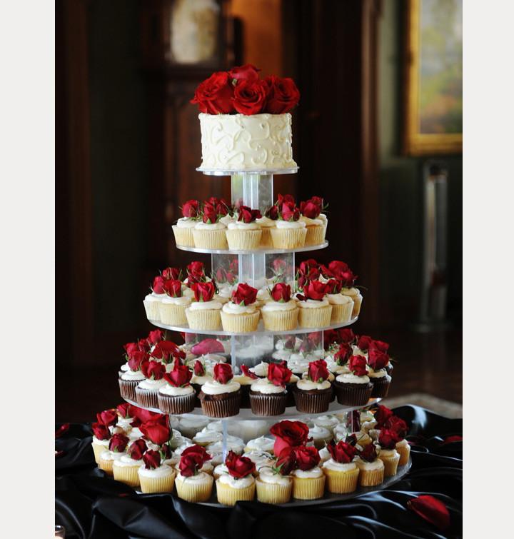 Cupcakes Wedding Cakes  Cupcake Wedding Cakes Mon Cheri Bridals