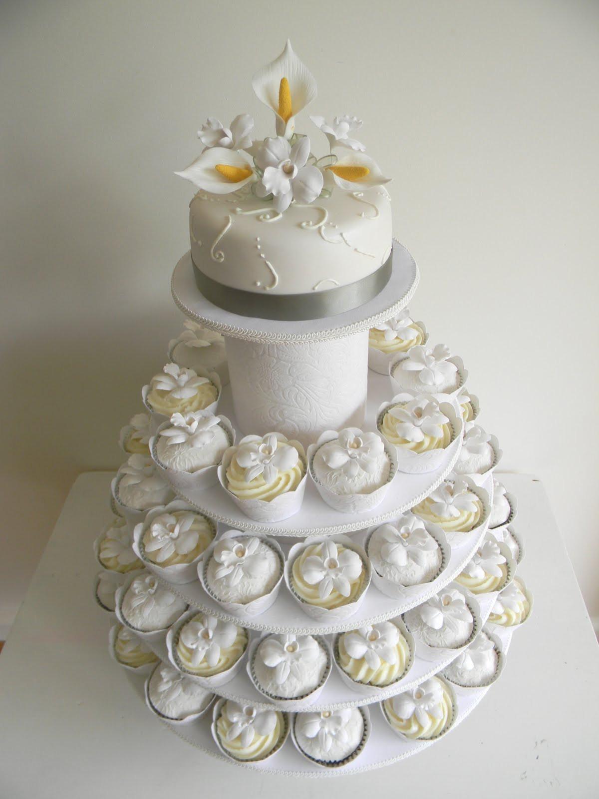 Cupcakes Wedding Cakes  Just call me Martha Celia & Istvan s wedding cake & cupcakes