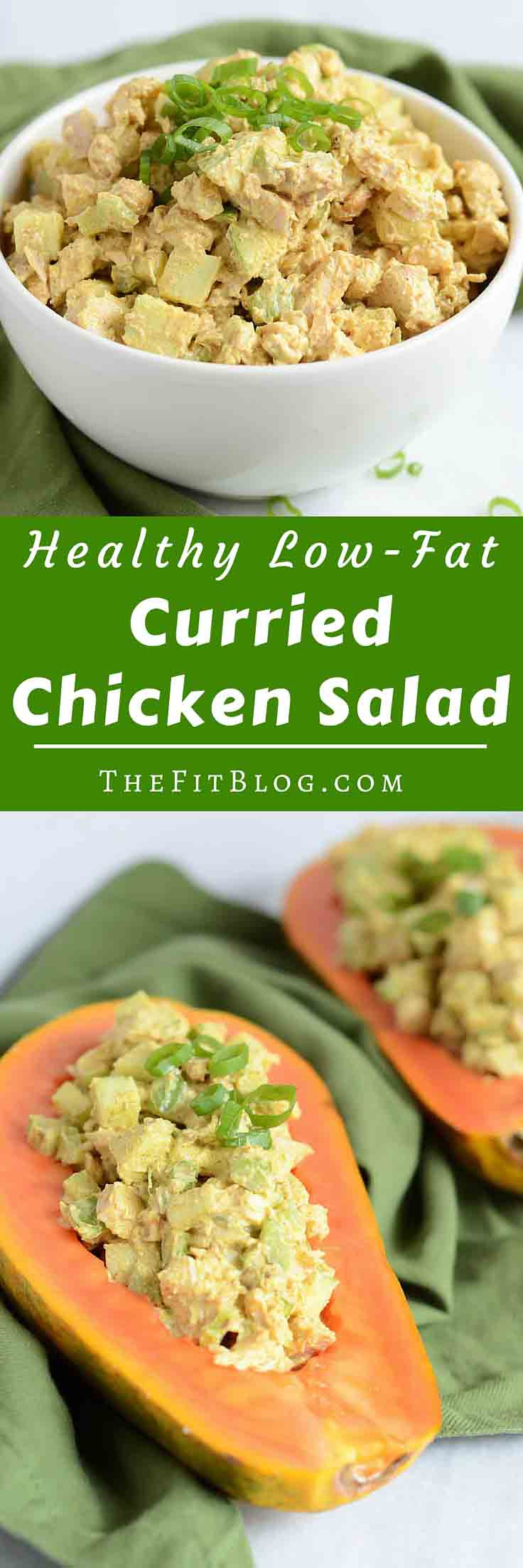 Curried Chicken Salad Healthy  Healthy Curry Chicken Salad With Apples
