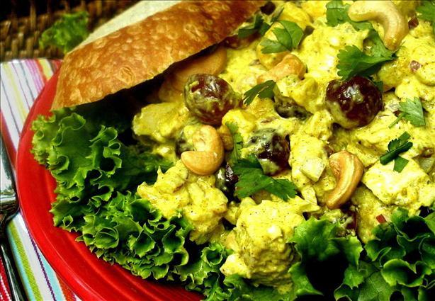 Curried Chicken Salad Healthy  Curried Chicken Salad Recipe Healthy Food