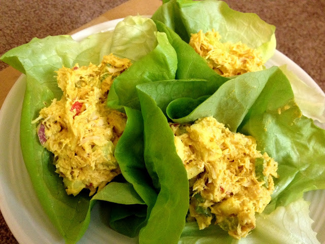 Curried Chicken Salad Healthy  Low Calorie Curried Chicken Salad