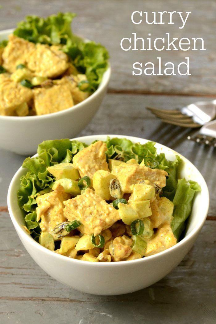 Curried Chicken Salad Healthy  Curry Chicken Salad Recipe