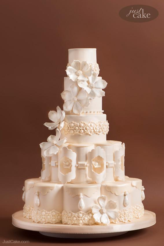 Custom Wedding Cakes  Extraordinary Custom Wedding Cakes by Marina Sousa