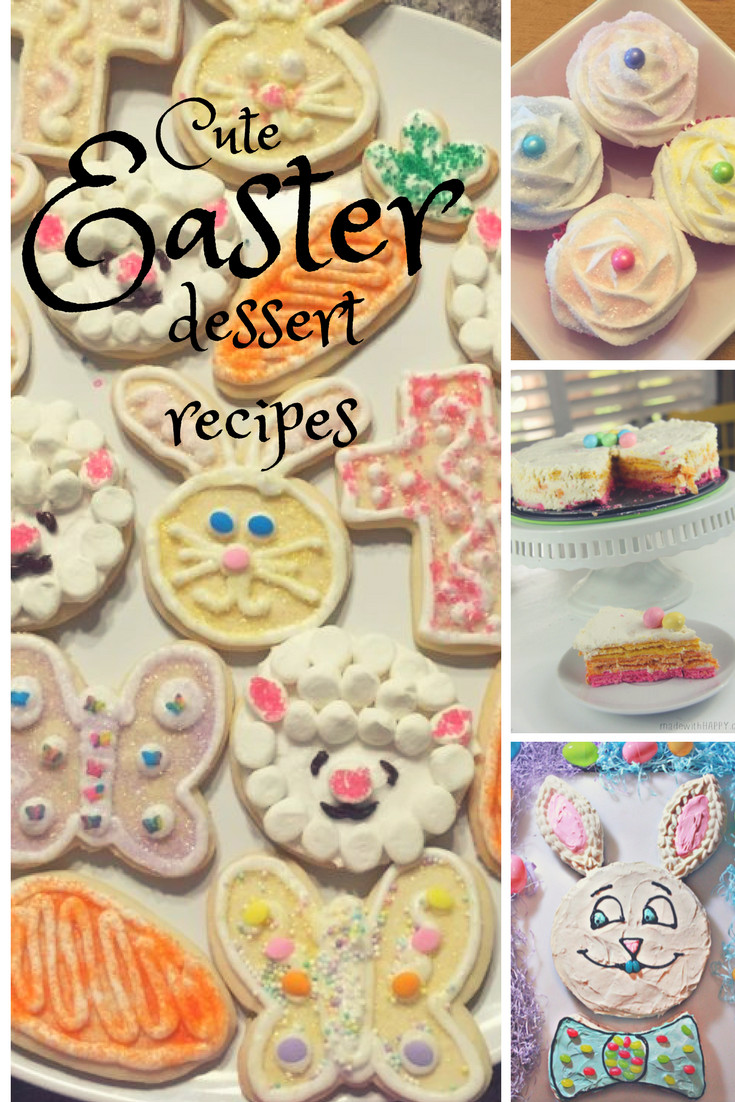 Cute Easter Desserts  Cute Easter Dessert Recipes Shopping Kim