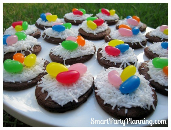 Cute Easy Easter Desserts  How To Easily Make Birds Nest Cookies