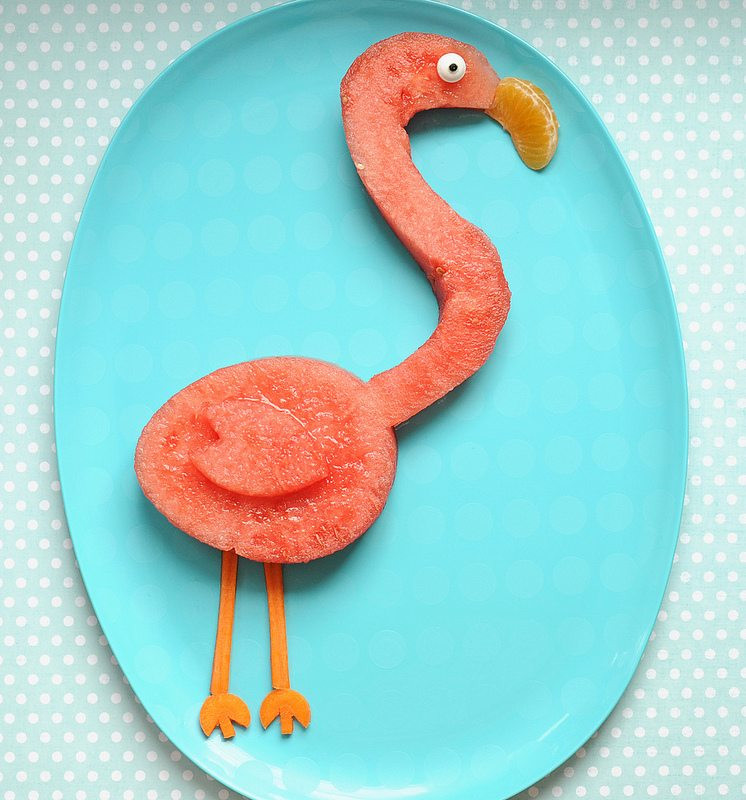 Cute Healthy Snacks  Cute and Healthy Snack Idea A Pretty Pink Flamingo