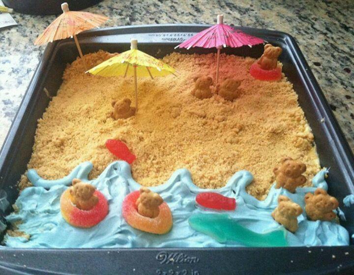 Cute Summer Desserts  Fun Summer Cake Decorating Ideas