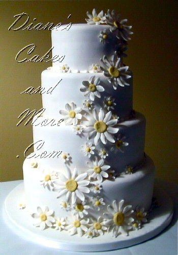 Daisy Wedding Cakes  25 best ideas about Daisy wedding decorations on