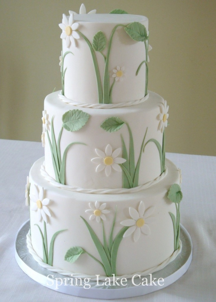 Daisy Wedding Cakes  Top Cakes with Daisies Page 2 of 43