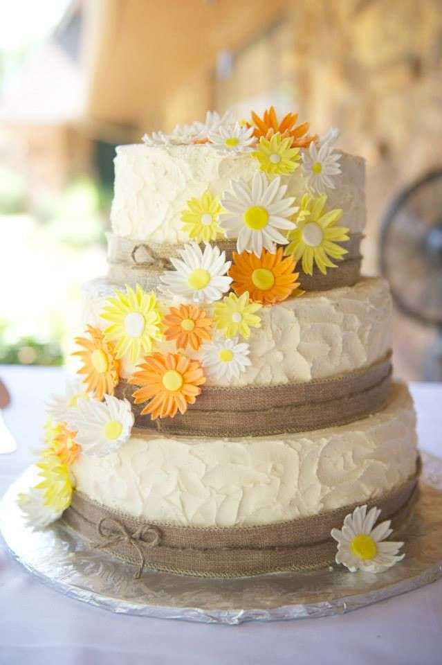 Daisy Wedding Cakes  1000 images about Rustic cake on Pinterest