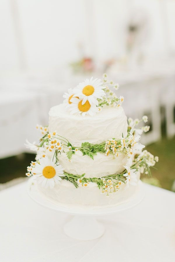 Daisy Wedding Cakes  Top 15 Spring Wedding Cake Ideas – Unique Party Theme