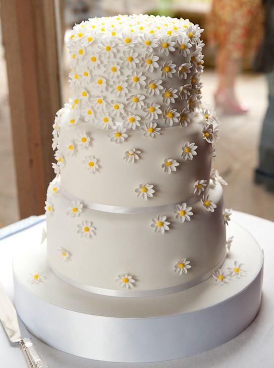 Daisy Wedding Cakes  How to choose a wedding cake