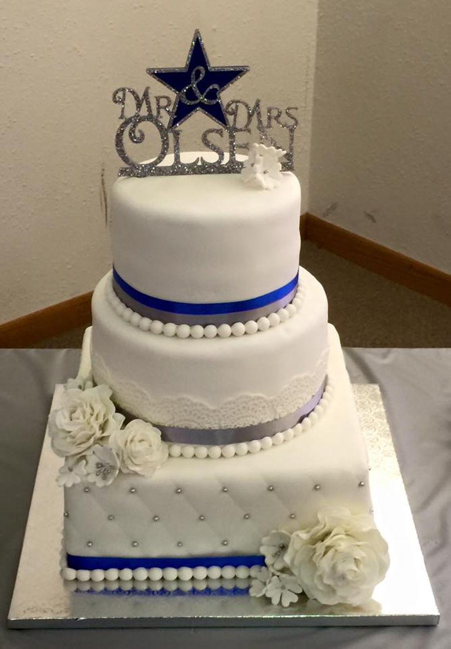 Dallas Cowboy Wedding Cakes  Dallas Cowboy Wedding Cake CakeCentral