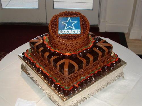Dallas Cowboy Wedding Cakes  dallascowboys