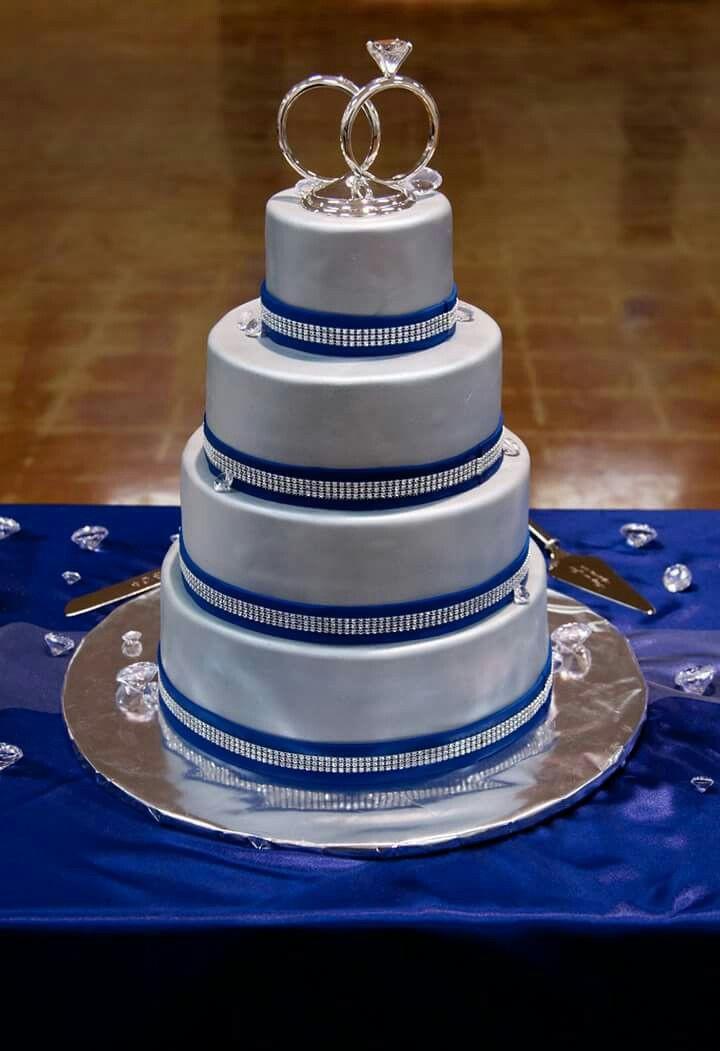 Dallas Cowboys Wedding Cakes  Our beautiful wedding cake DC4L