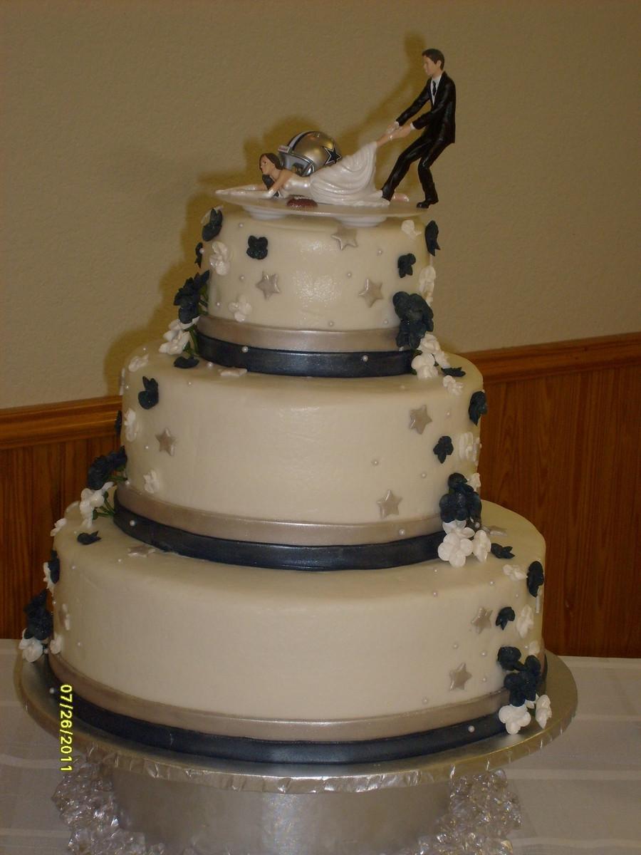Dallas Cowboys Wedding Cakes  Dallas Cowboy Fan CakeCentral