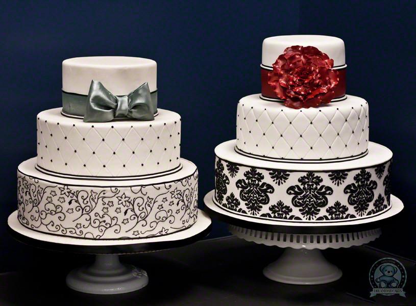 Damask Wedding Cakes  Damask Wedding Cake Gainesville Florida