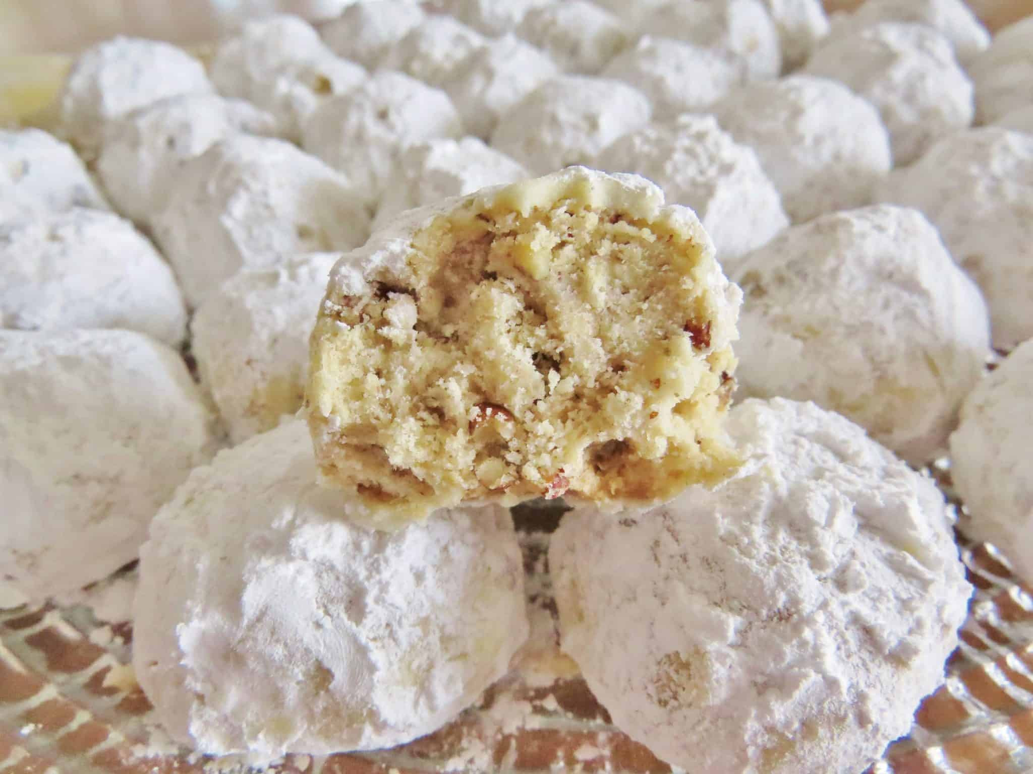 Danish Wedding Cookies Recipe  Southern Pecan Butterballs The Country Cook