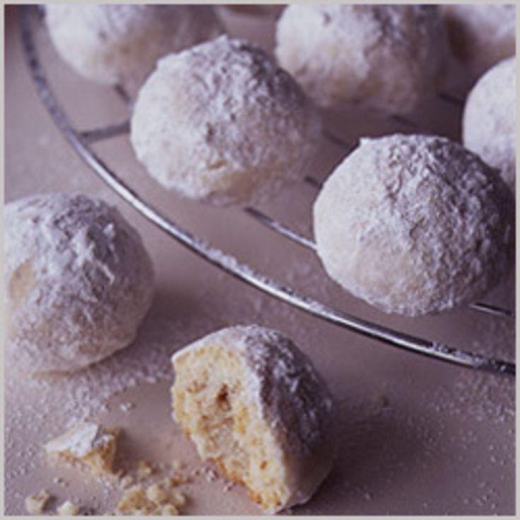 Danish Wedding Cookies Recipe  Butter Balls