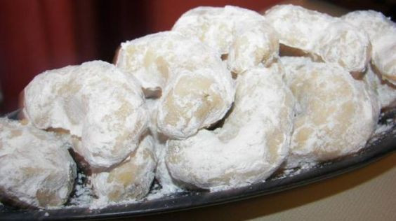 Danish Wedding Cookies Recipe  Pinterest • The world's catalog of ideas