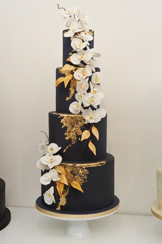 Dark Wedding Cakes  15 gorgeous wedding cake trends for 2017 Paul Bradford
