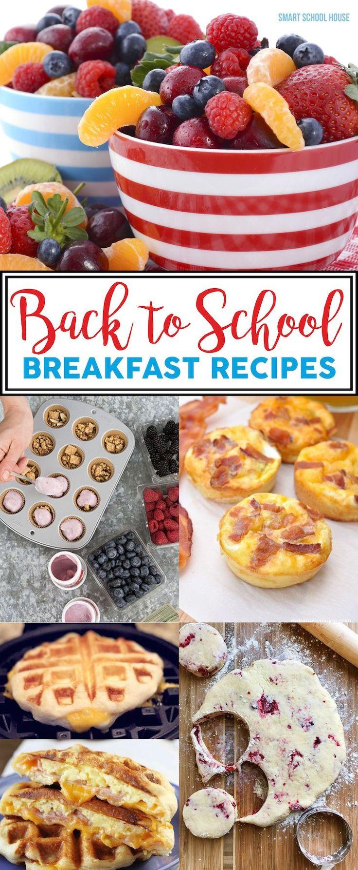 Delicious Healthy Breakfast Recipes  Best 25 Kid breakfast ideas on Pinterest
