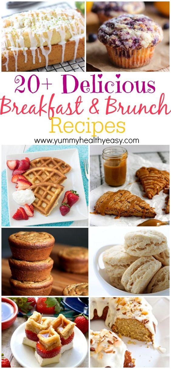 Delicious Healthy Breakfast Recipes  20 Delicious Breakfast & Brunch Recipes