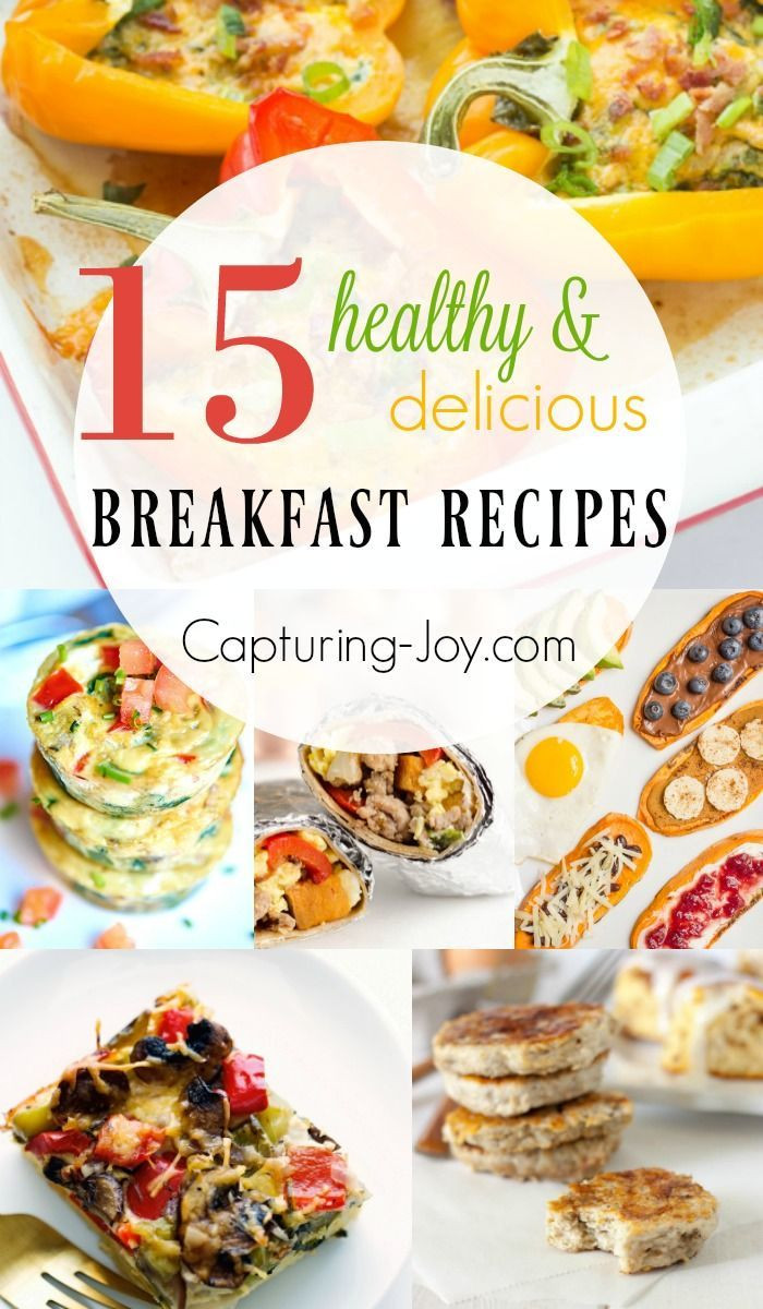 Delicious Healthy Breakfast Recipes  184 best images about Recipes Breakfast on Pinterest