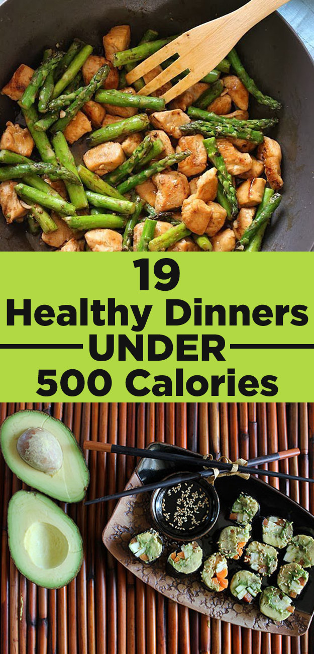Delicious Healthy Dinners  19 Insanely Delicious Healthy Dinners Under 500 Calories