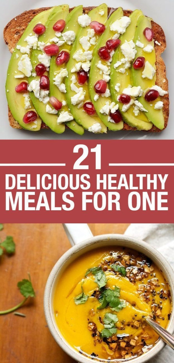Delicious Healthy Dinners  21 Delicious Healthy Meals For e
