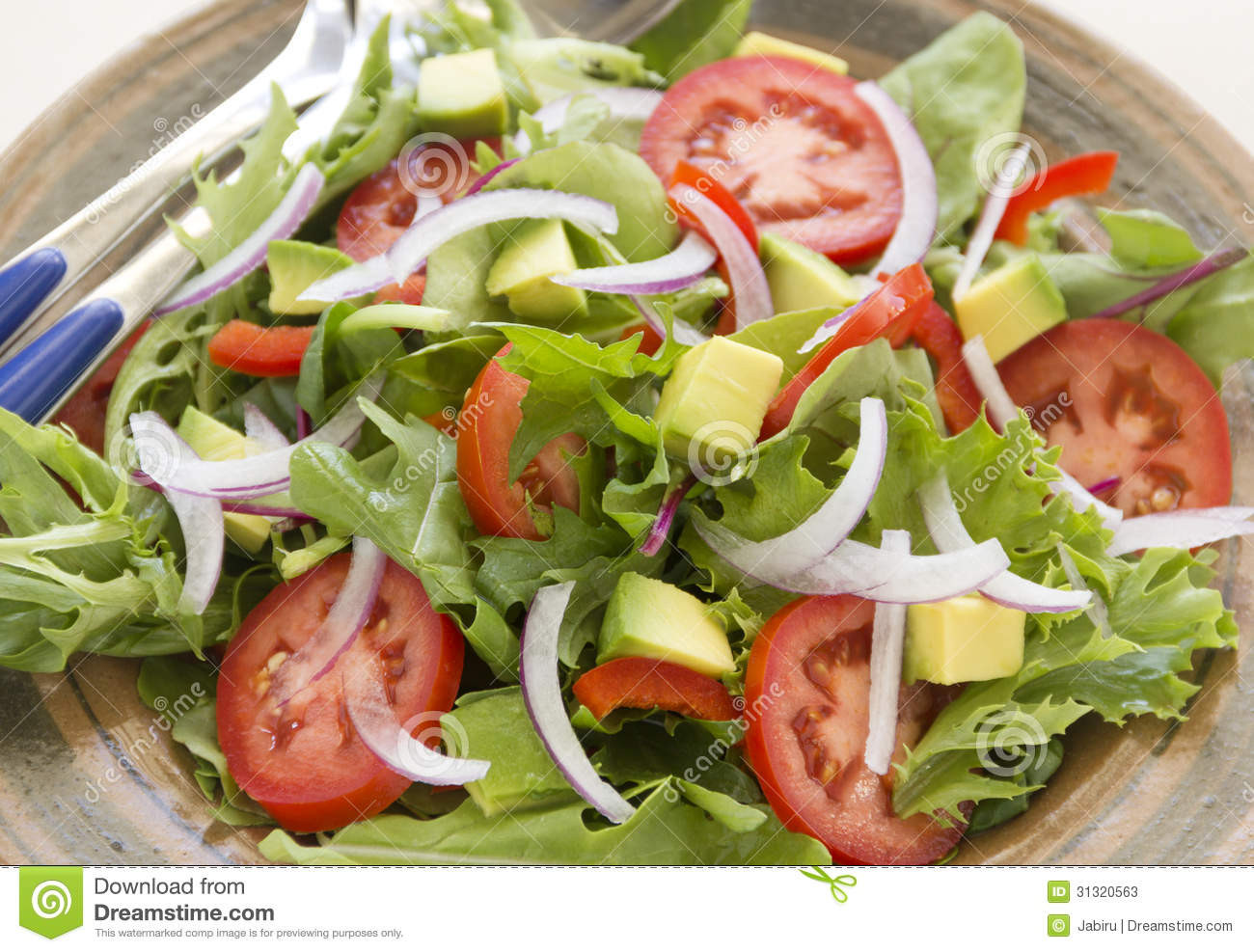 Delicious Healthy Salads Best 20 tossed Garden Salad Stock Image Image Of Fresh Tasty