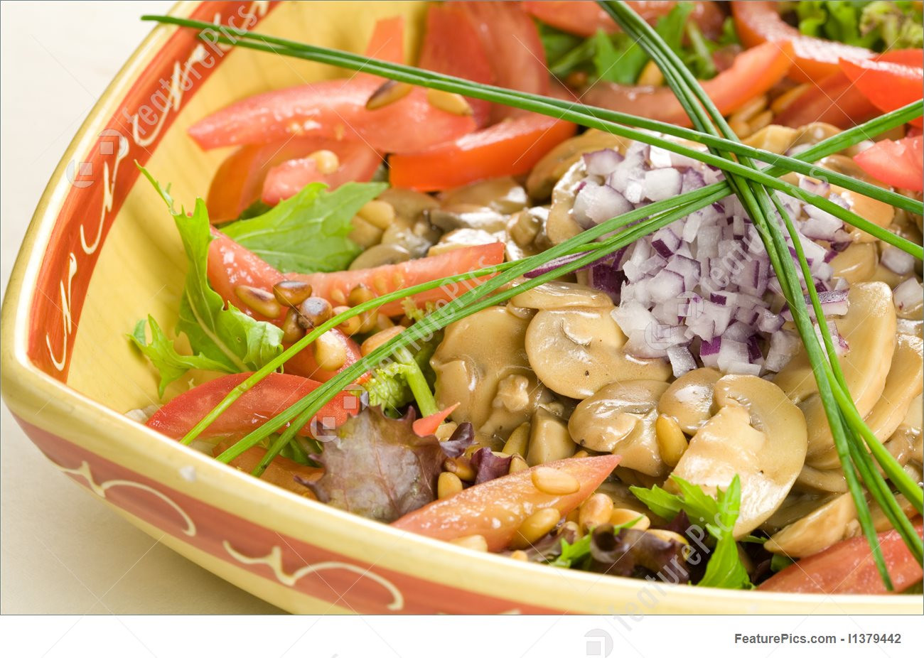 Delicious Healthy Salads  Food Delicious Healthy Salad Stock Picture I at