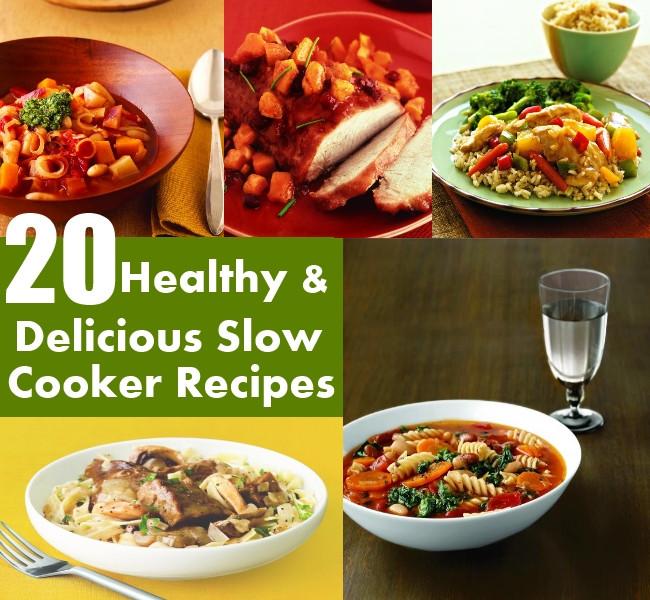 Delicious Healthy Slow Cooker Recipes  20 Extremely Healthy And Delicious Slow Cooker Recipes