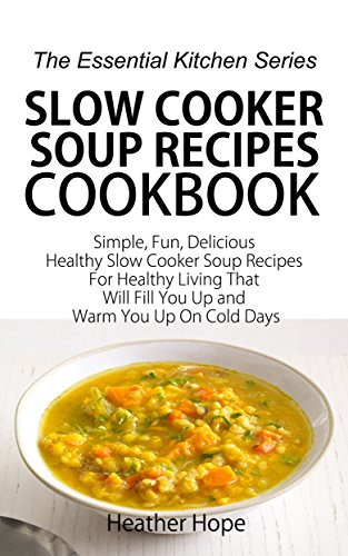 Delicious Healthy Slow Cooker Recipes  Slow Cooker Soup Recipes Cookbook Simple Fun Delicious