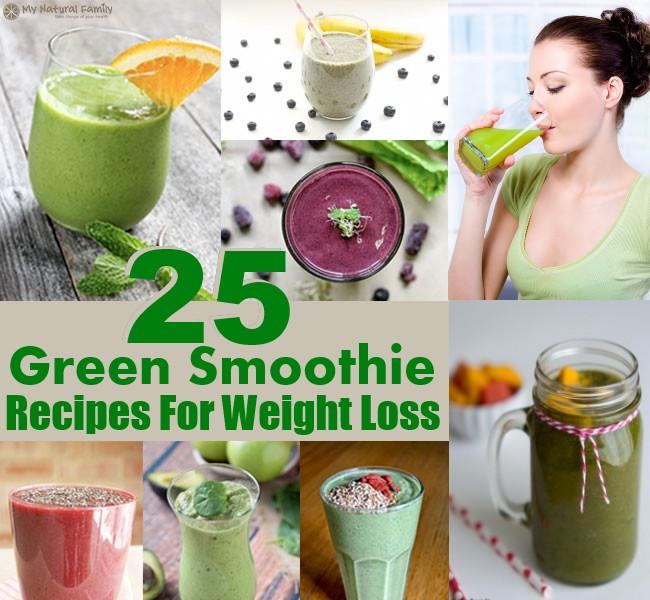 Delicious Healthy Smoothie Recipes  25 Healthy And Delicious Green Smoothie Recipes For Weight