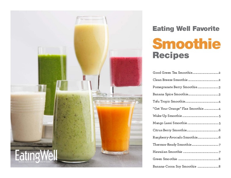 Delicious Healthy Smoothies  14 Delicious and Healthy Smoothie Recipes