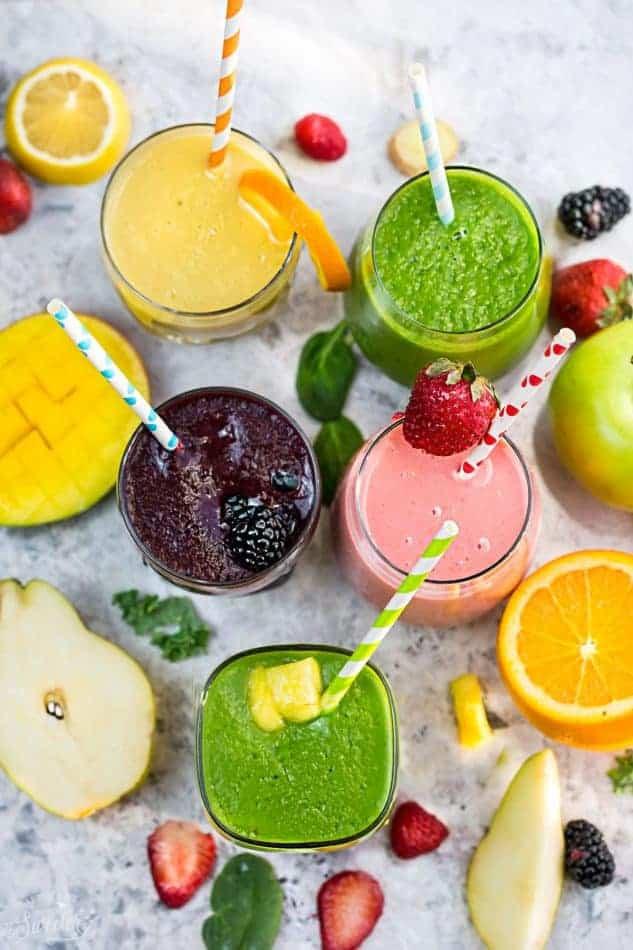 Delicious Healthy Smoothies  5 Healthy & Delicious Detox Smoothies Video Life Made