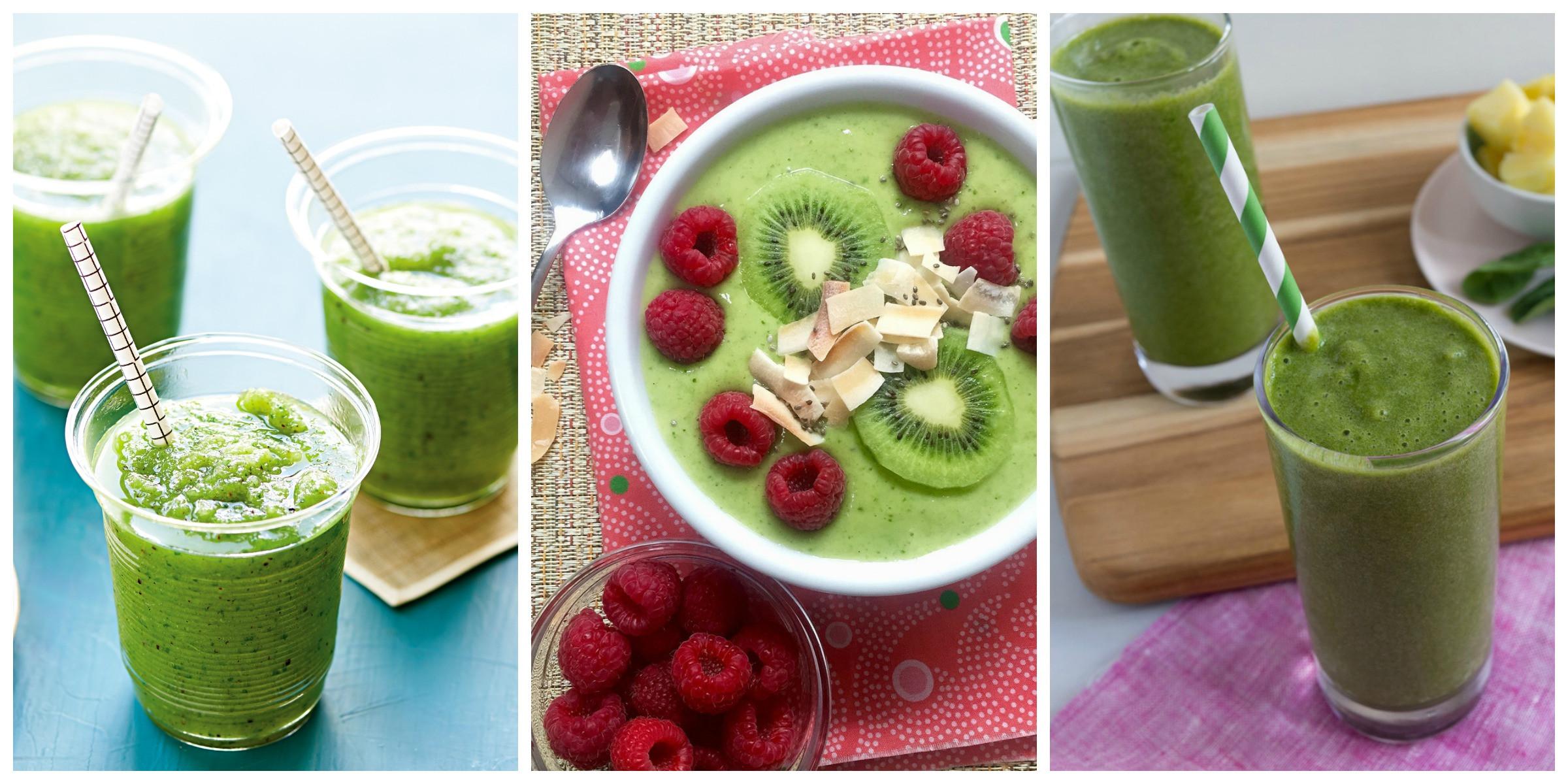Delicious Healthy Smoothies  15 Delicious Green Smoothie Recipes Healthy Smoothies