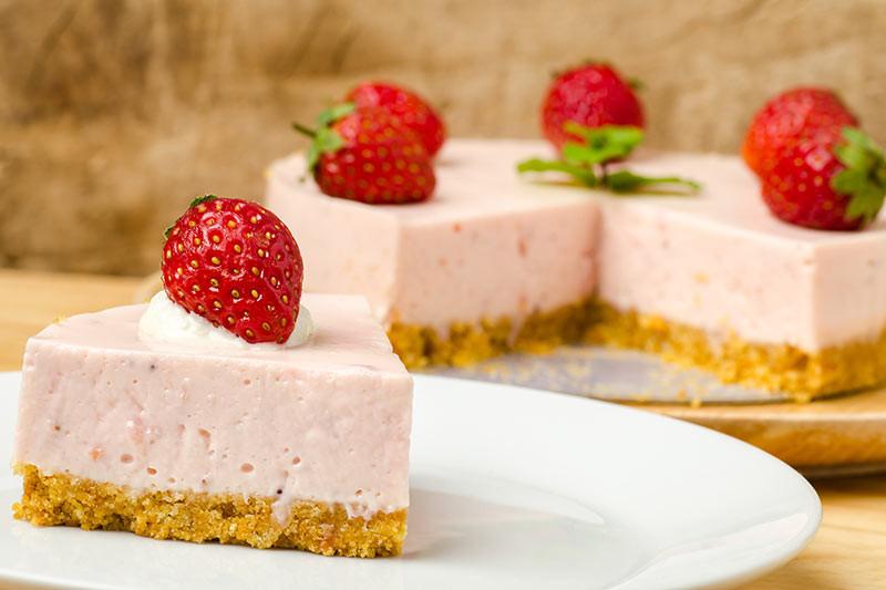 Delicious Summer Desserts  A Delicious Summer Dessert No Bake Strawberry Cheesecake