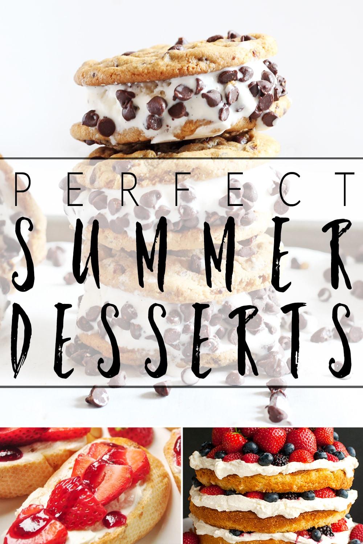 Delicious Summer Desserts  Delicious summer desserts recipeoftheweek 18 22 July