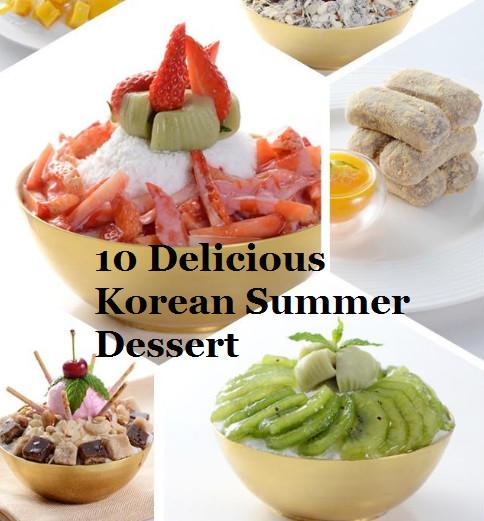 Delicious Summer Desserts  10 Delicious Korean summer dessert l edayKorea tours