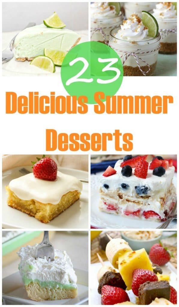 Delicious Summer Desserts  23 Delicious Summer Desserts Yummy Healthy Easy