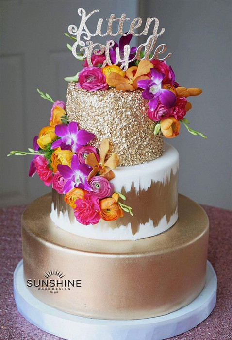 Delicious Wedding Cakes  Beautiful Delicious Wedding Cakes