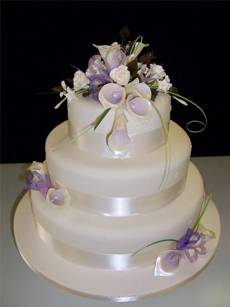 Designer Wedding Cakes  Bridal Wedding Dresses Modern wedding cake design pictures